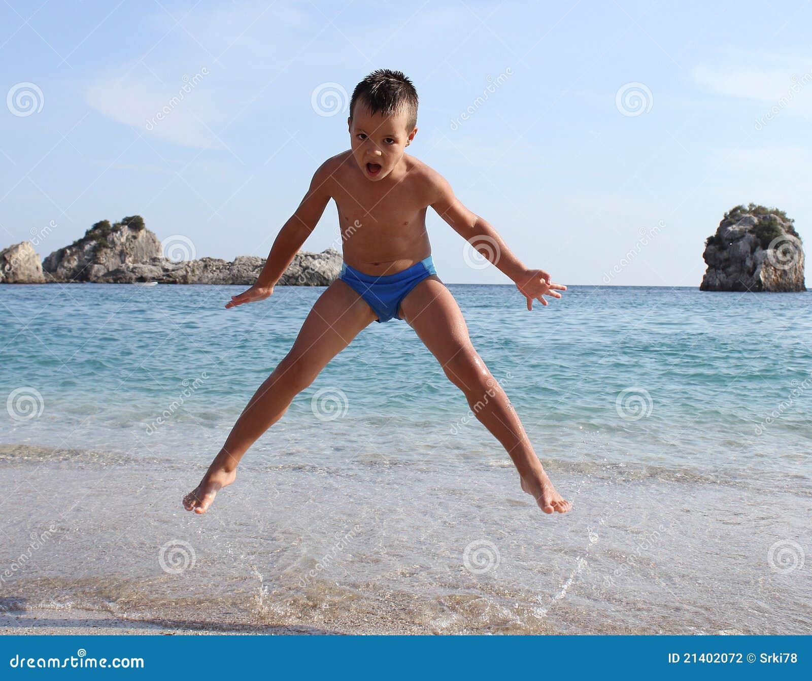 海滩男孩跳