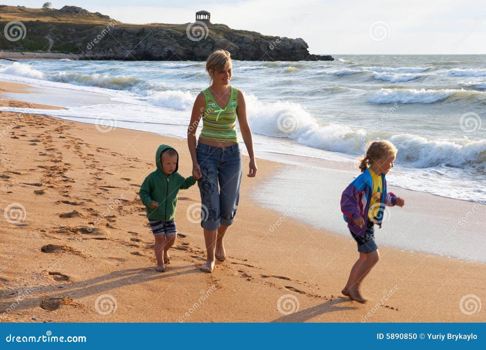 海滩系列海浪