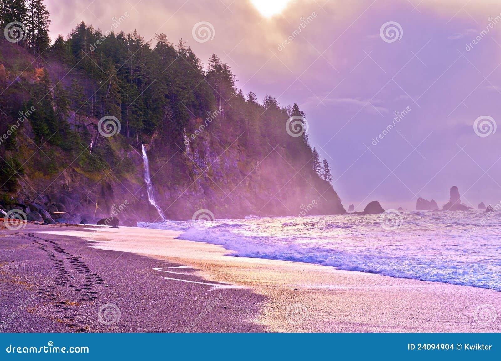 海滩la推进