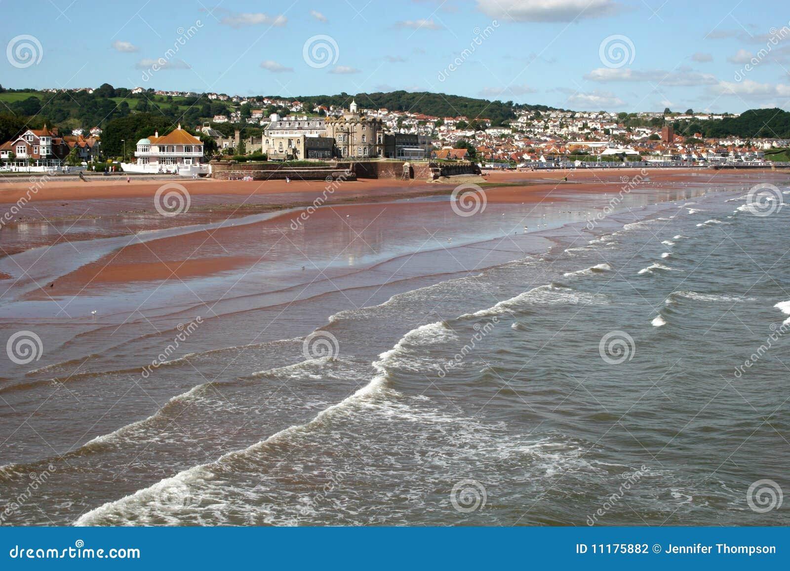 海滩paignton