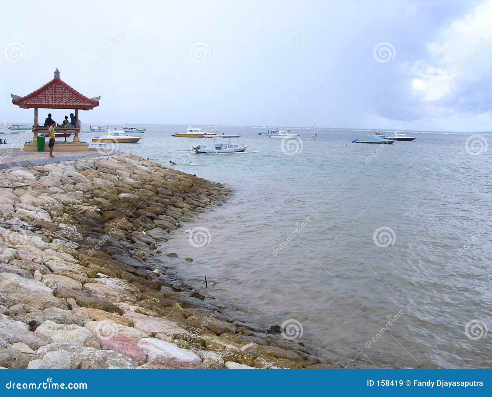 海滩sanur
