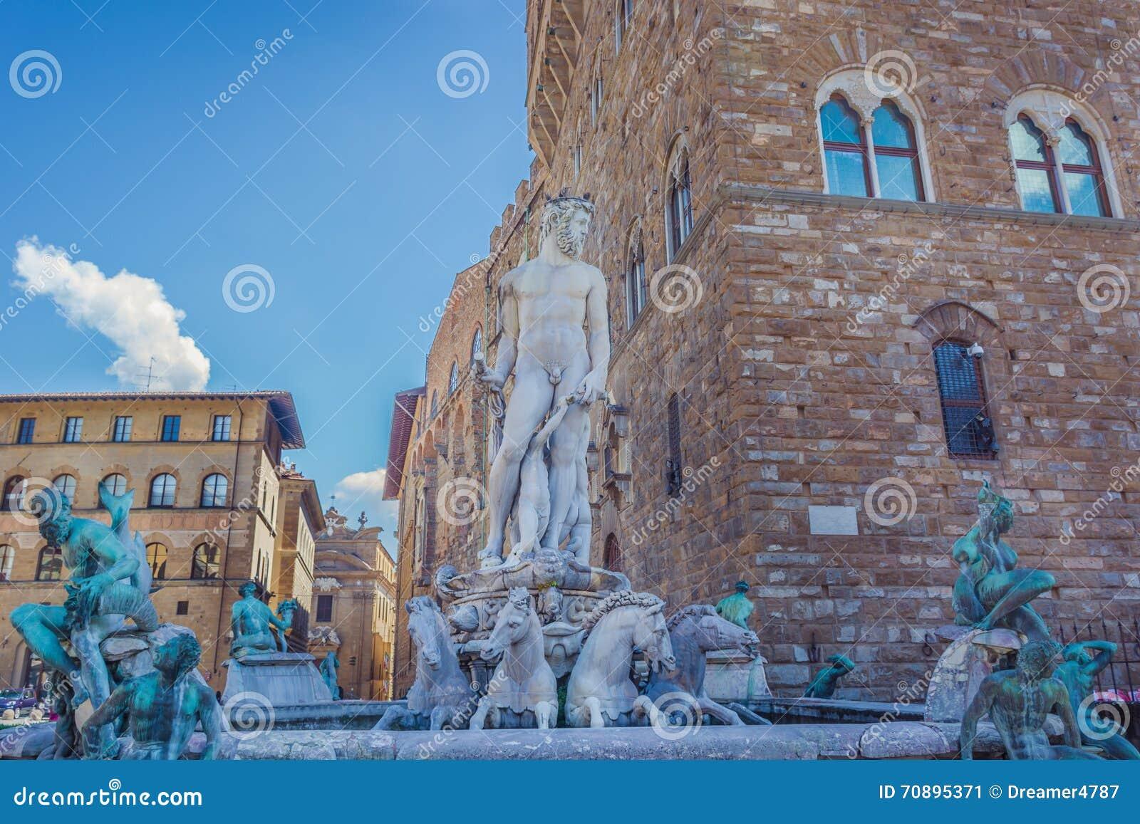 海王星喷泉,佛罗伦萨意大利