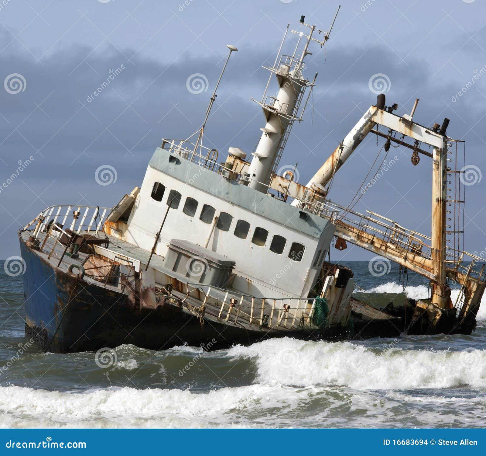 海难-概要海岸-纳米比亚