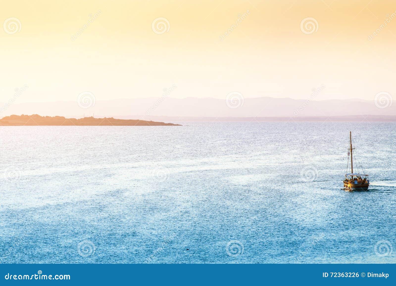 海风景日落