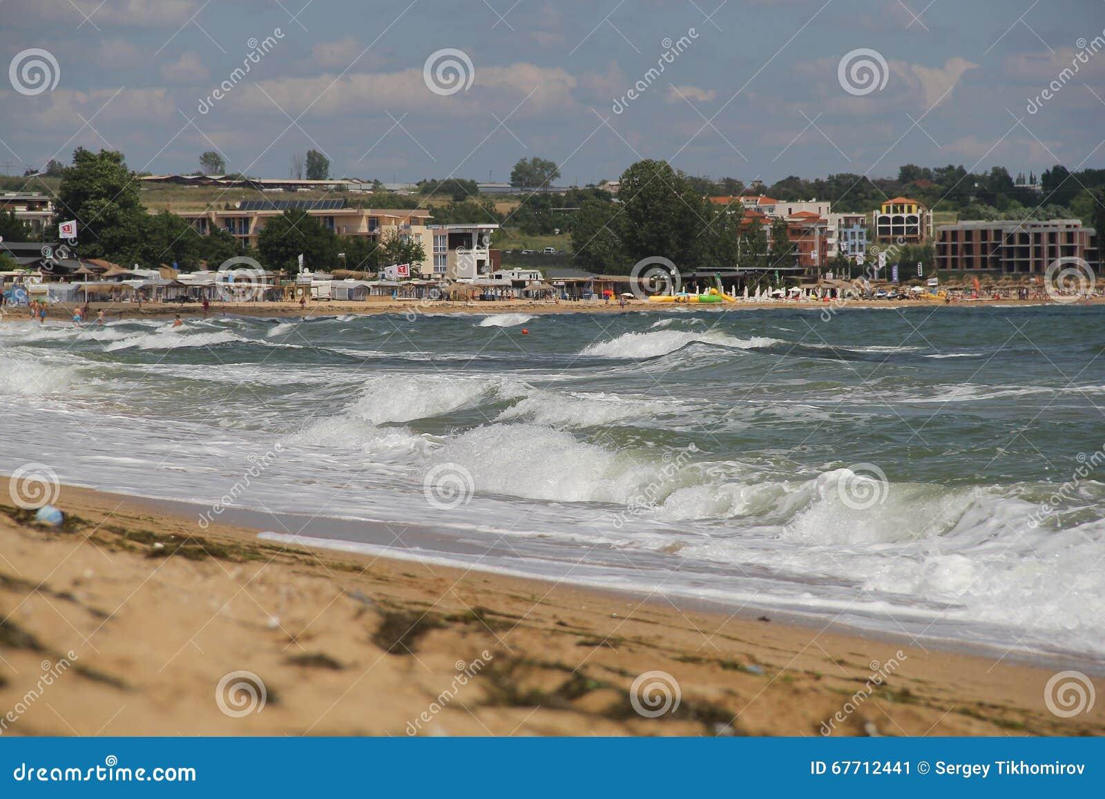海,沙子,波浪,年2014年