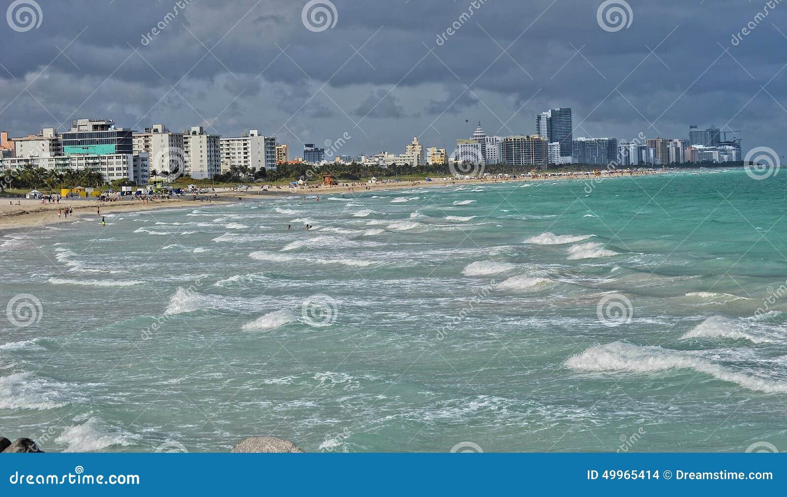 海滩南的迈阿密s