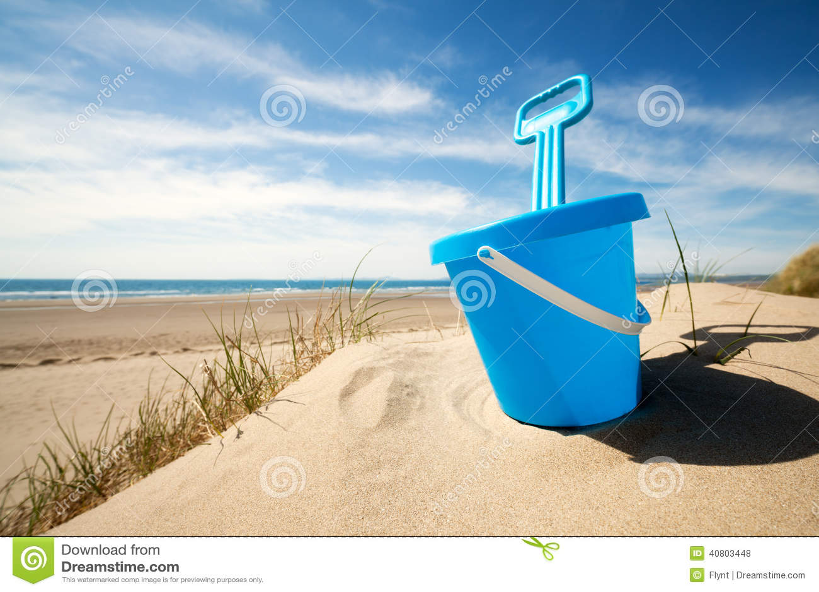 海滩桶和小铲