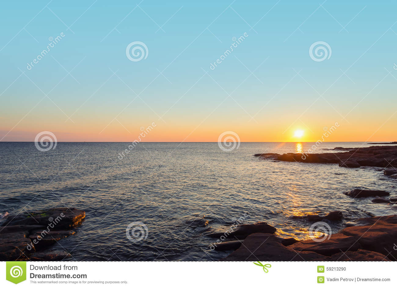 海洋海滩早晨图片