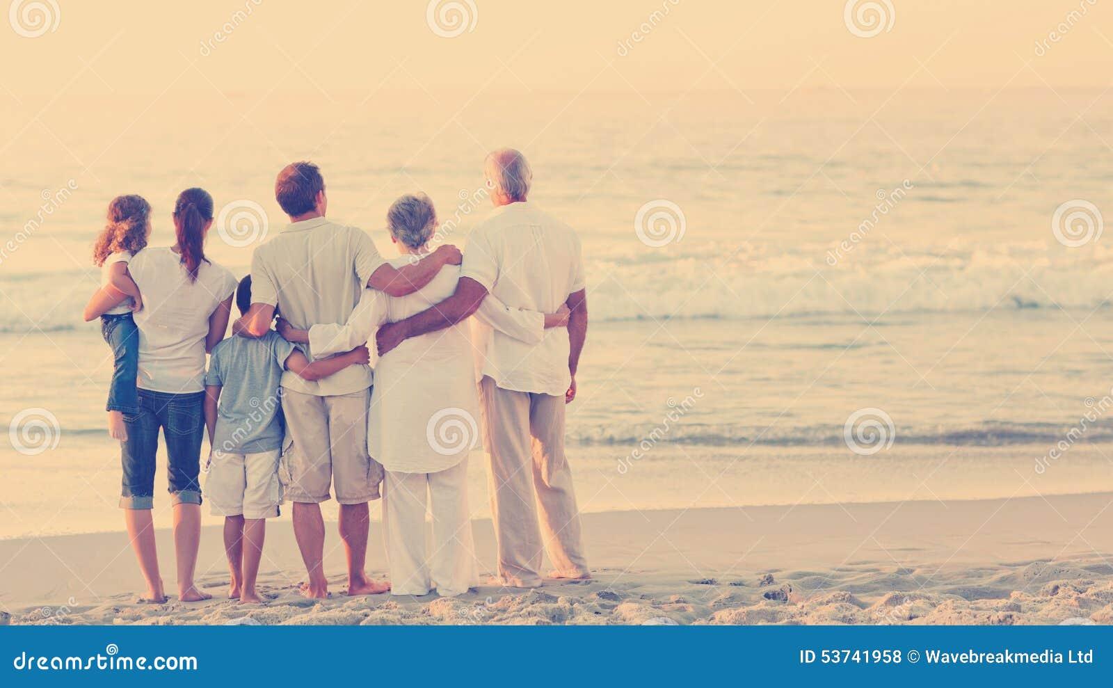 海滩美丽的系列