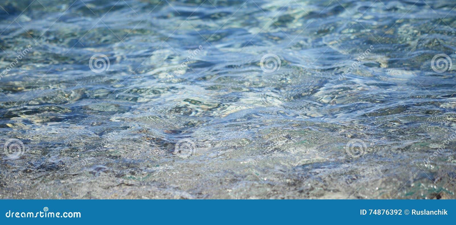 海洋水背景