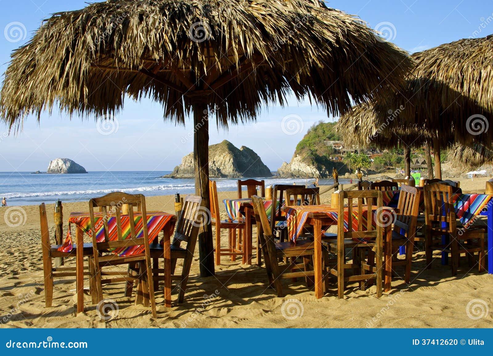海滩餐馆,墨西哥