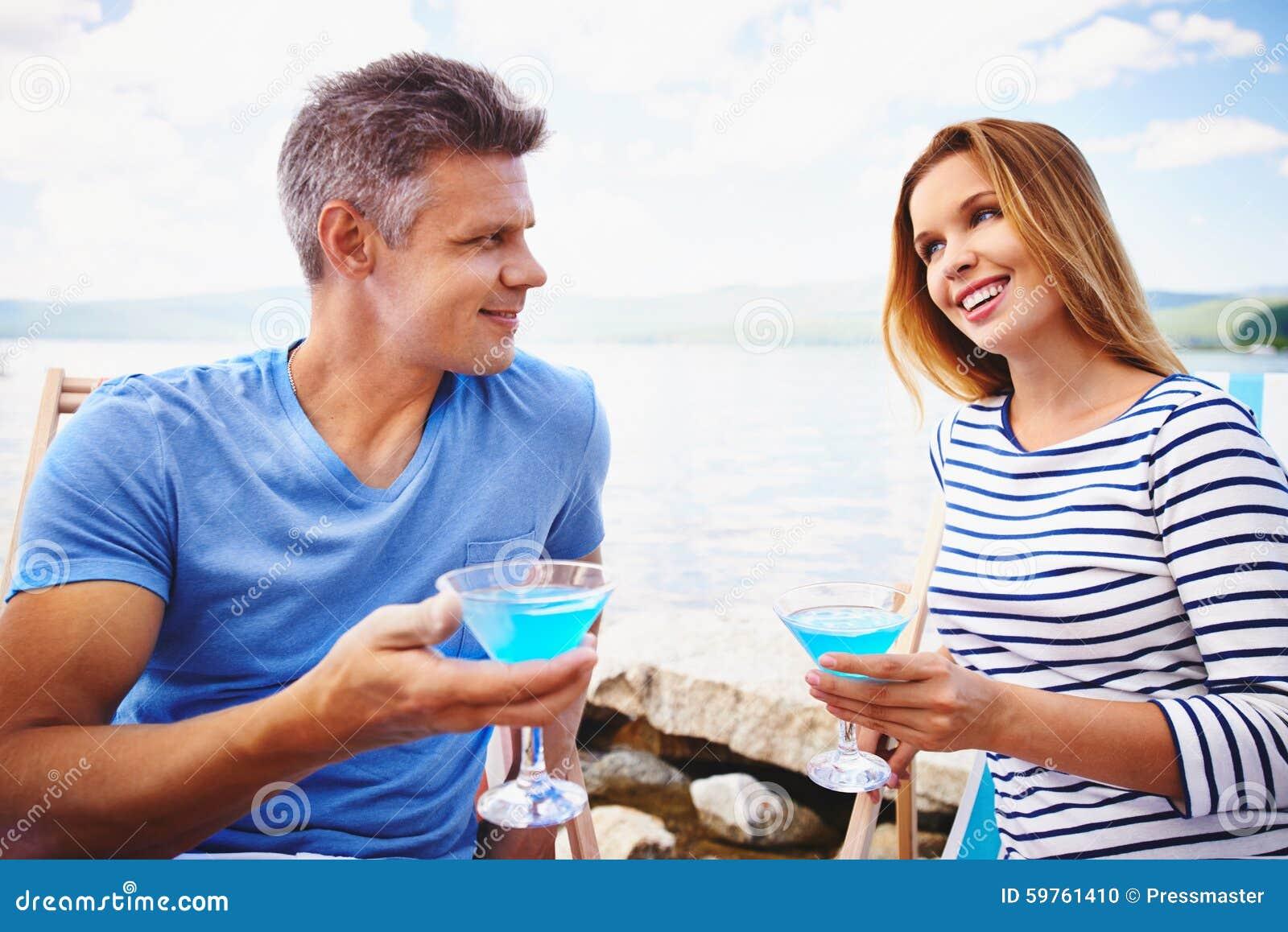 海滩马蒂尼鸡尾酒