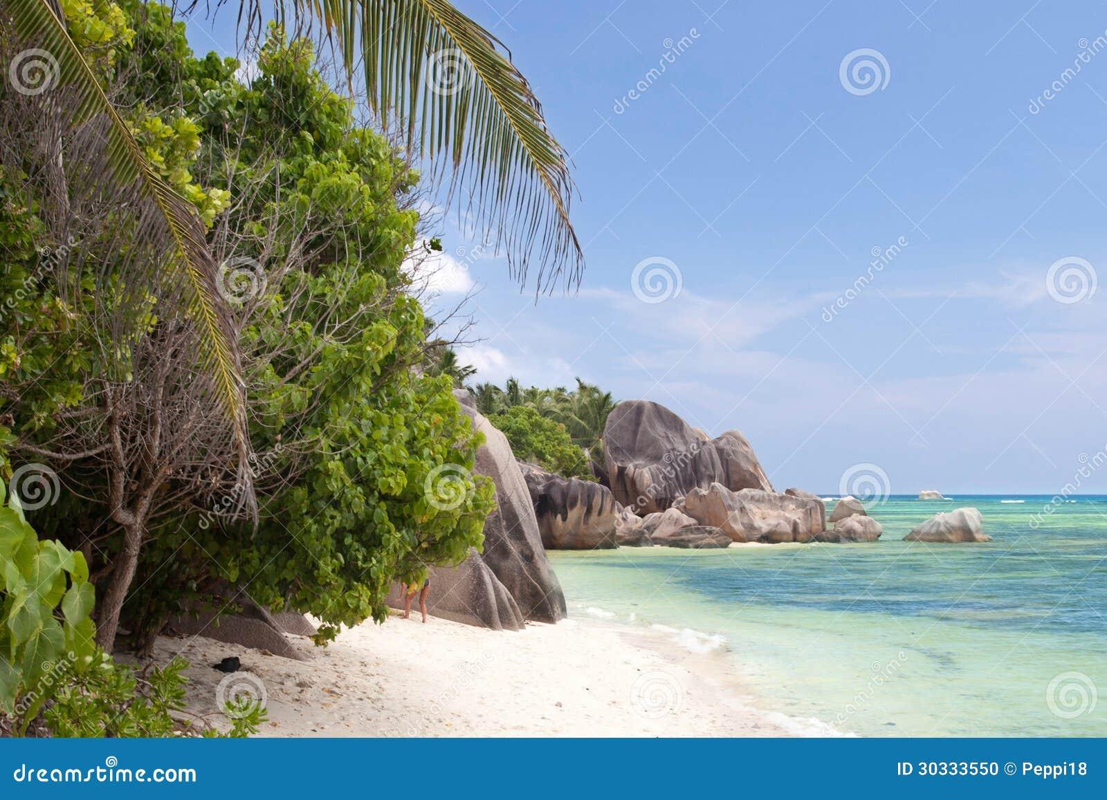 海滩dargent anse的来源-塞舌尔群岛