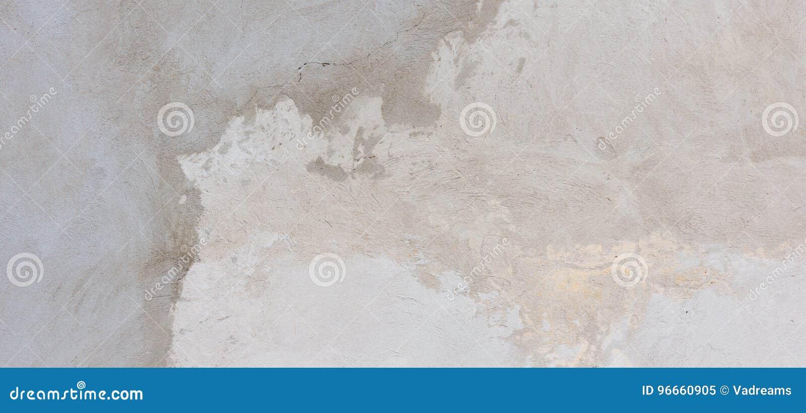 涂灰泥的水泥混凝土墙背景纹理