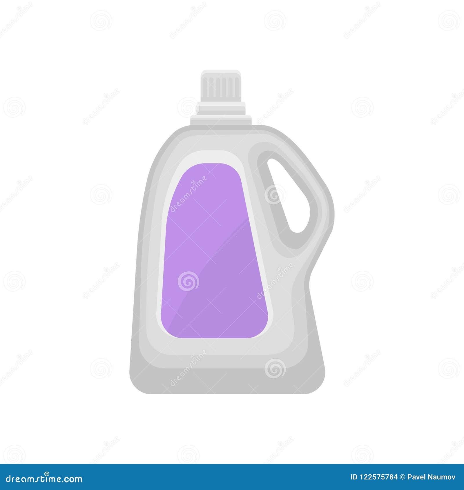 液体洗涤剂的,清洗化学制品容器在a的家庭塑料瓶传染媒介例证