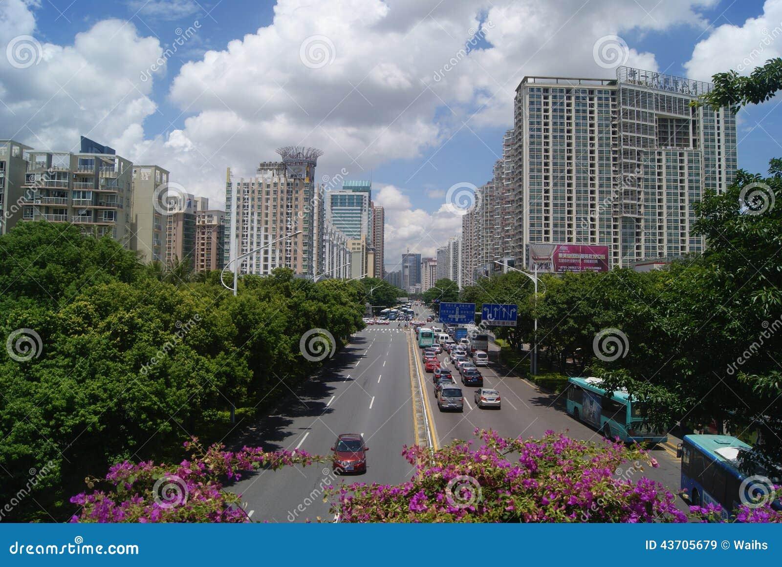 深圳南山区蛇口街道风景 蛇口在深圳是一个著名旅游风景点.图片