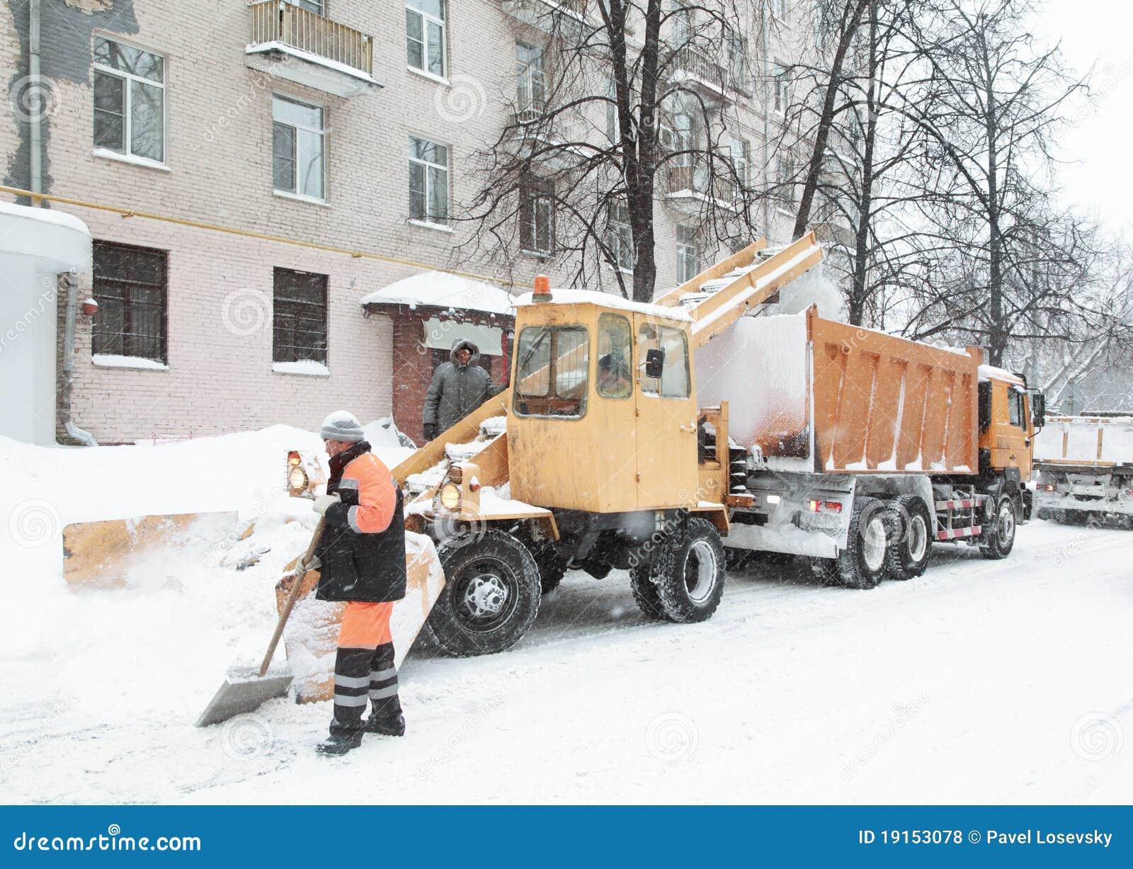 清洗人雪街道工作