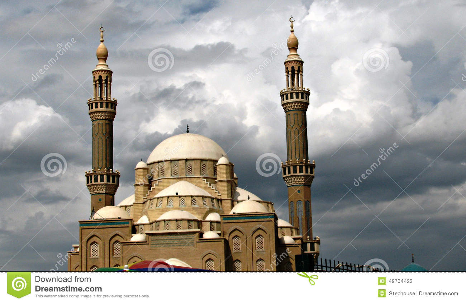 清真寺在伊拉克