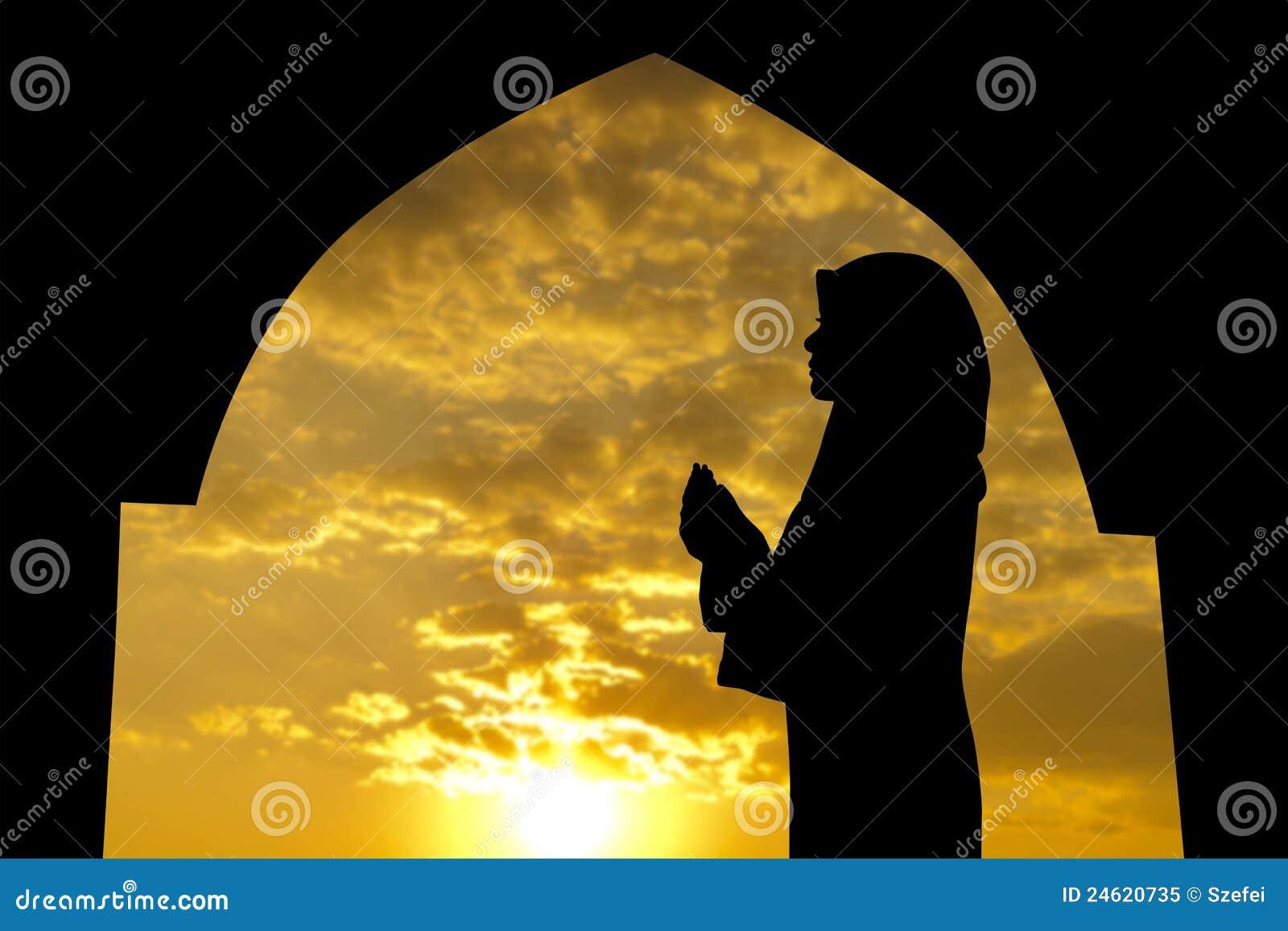 清真寺穆斯林祈祷