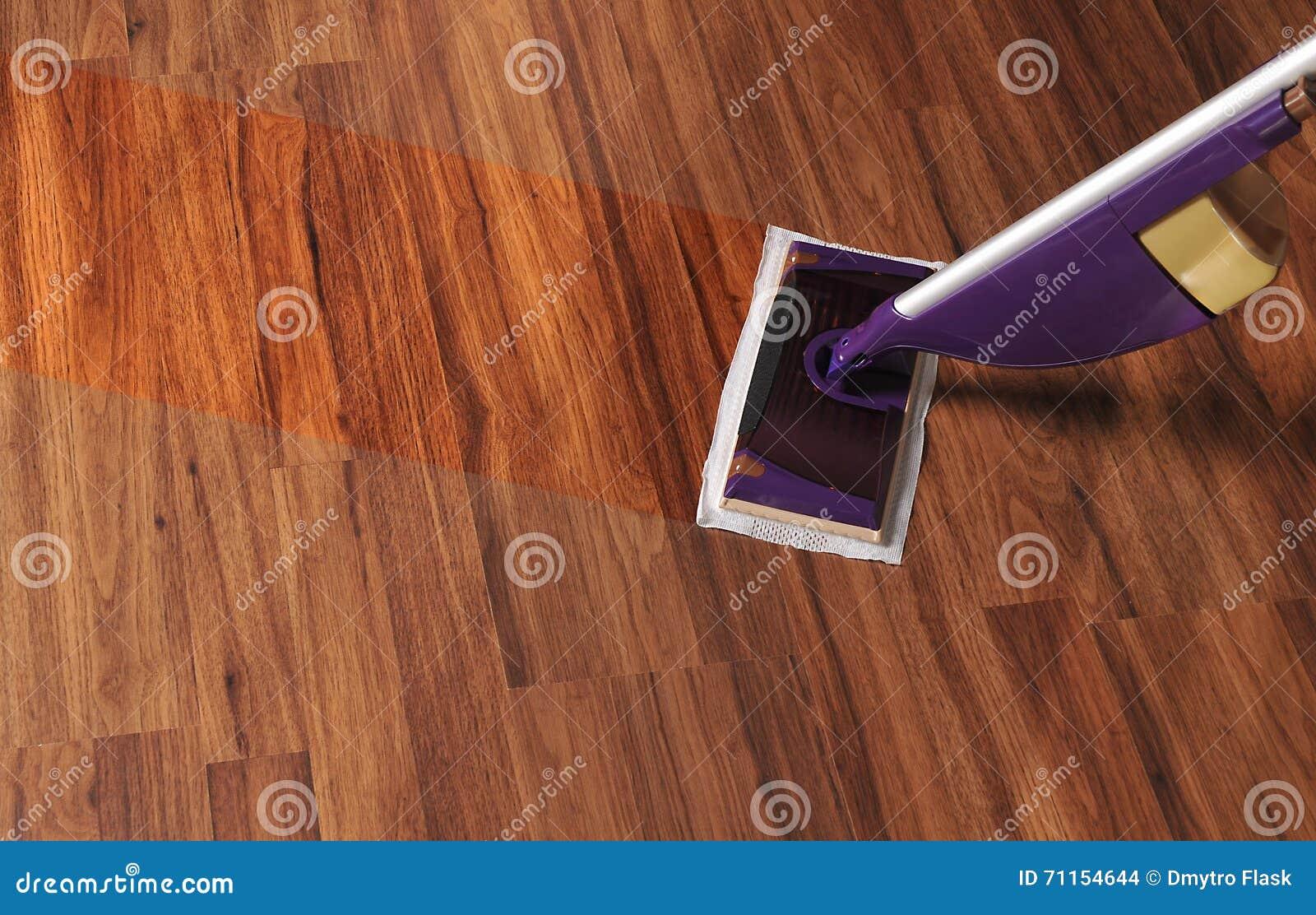 清洗的木地板现代拖把从尘土