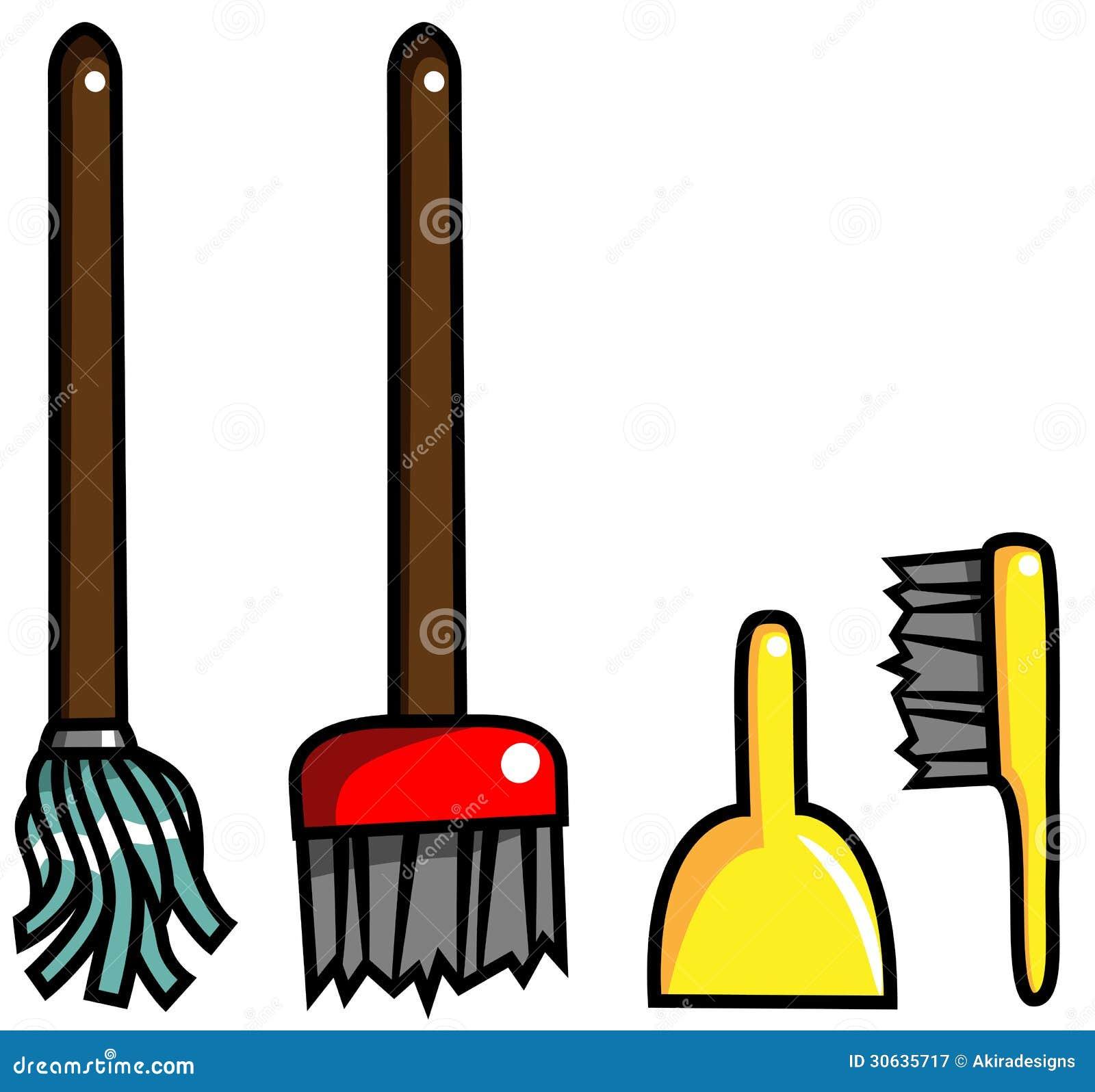清洁设备笤帚刷子拖把簸箕