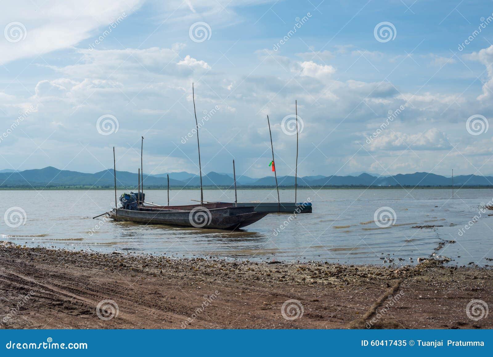 渔船Krasiao水坝