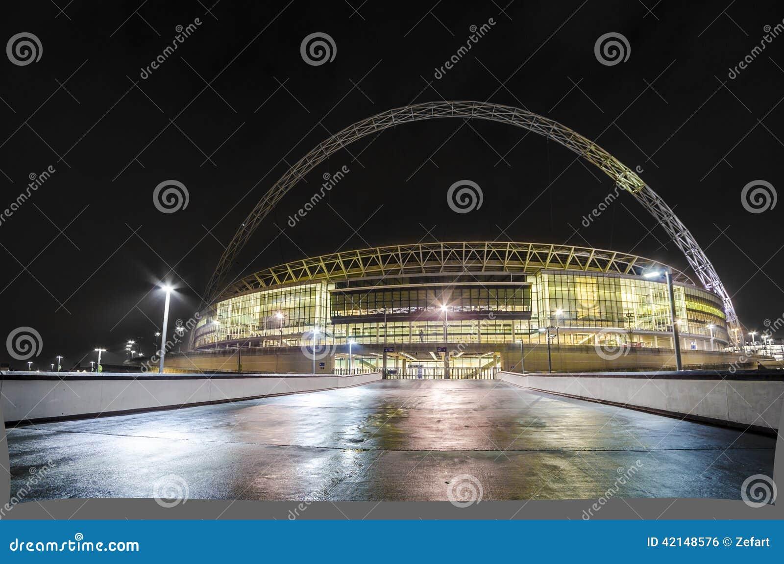 温布利球场在伦敦