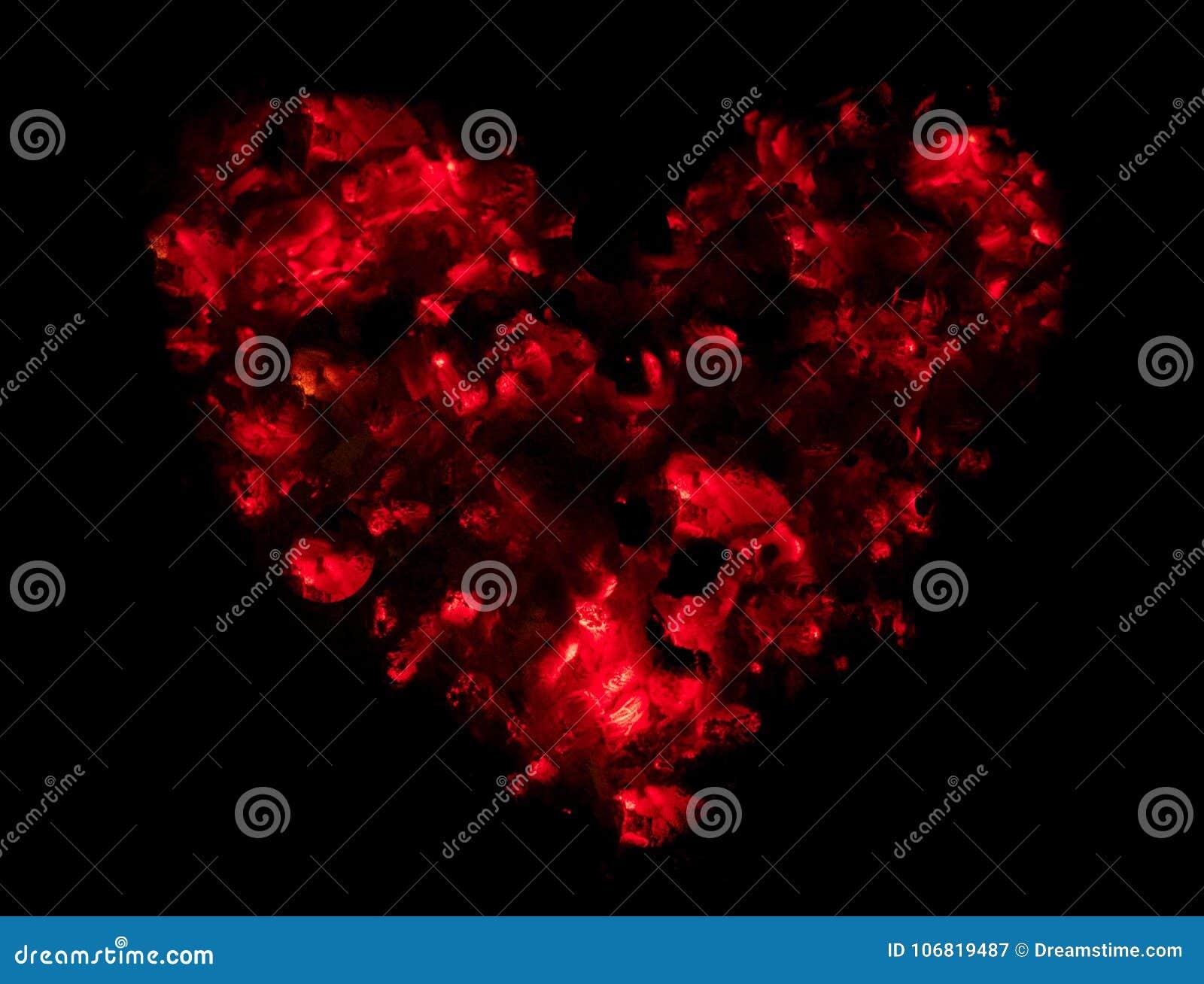 温暖和爱对华伦泰以做的心脏的形式` s天
