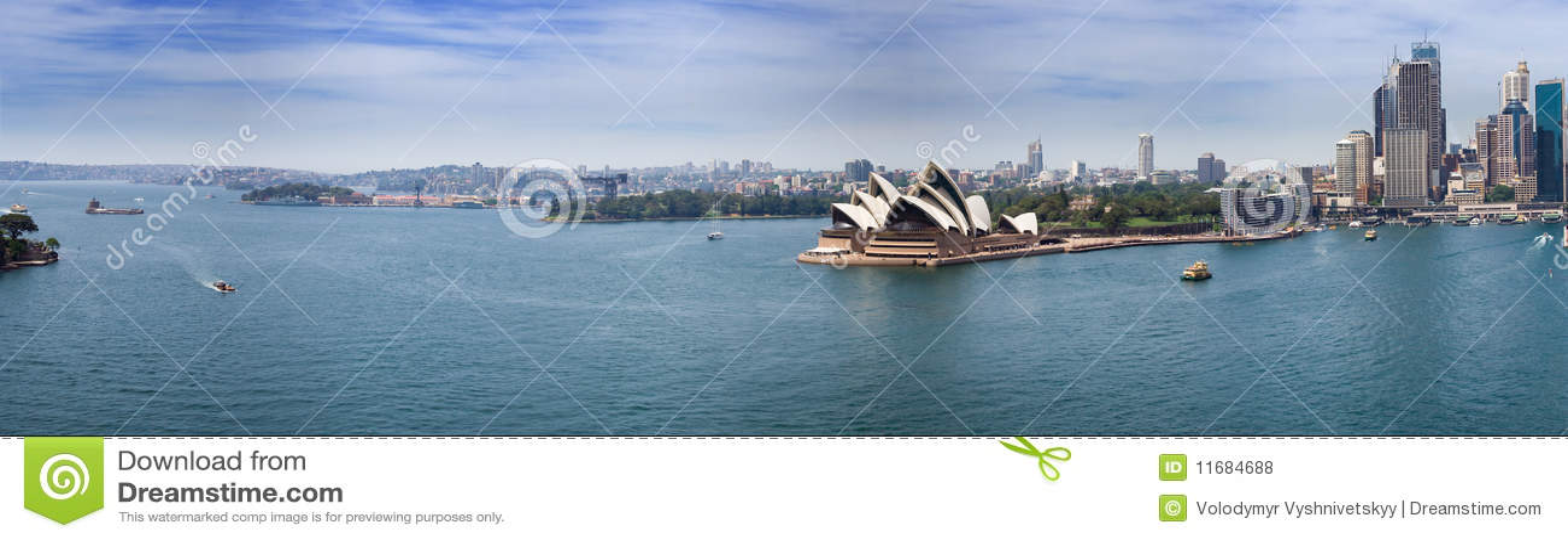 港口全景悉尼