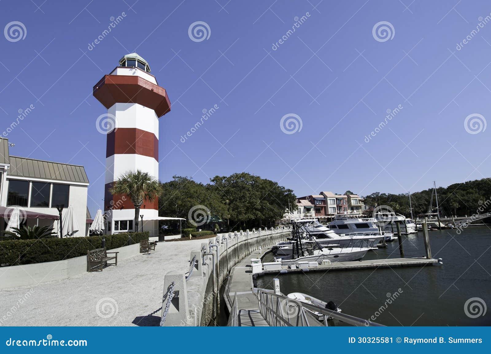 港口镇Lighthoese