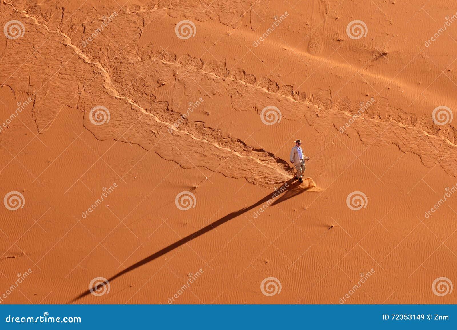 游人在纳米比亚沙漠,纳米比亚