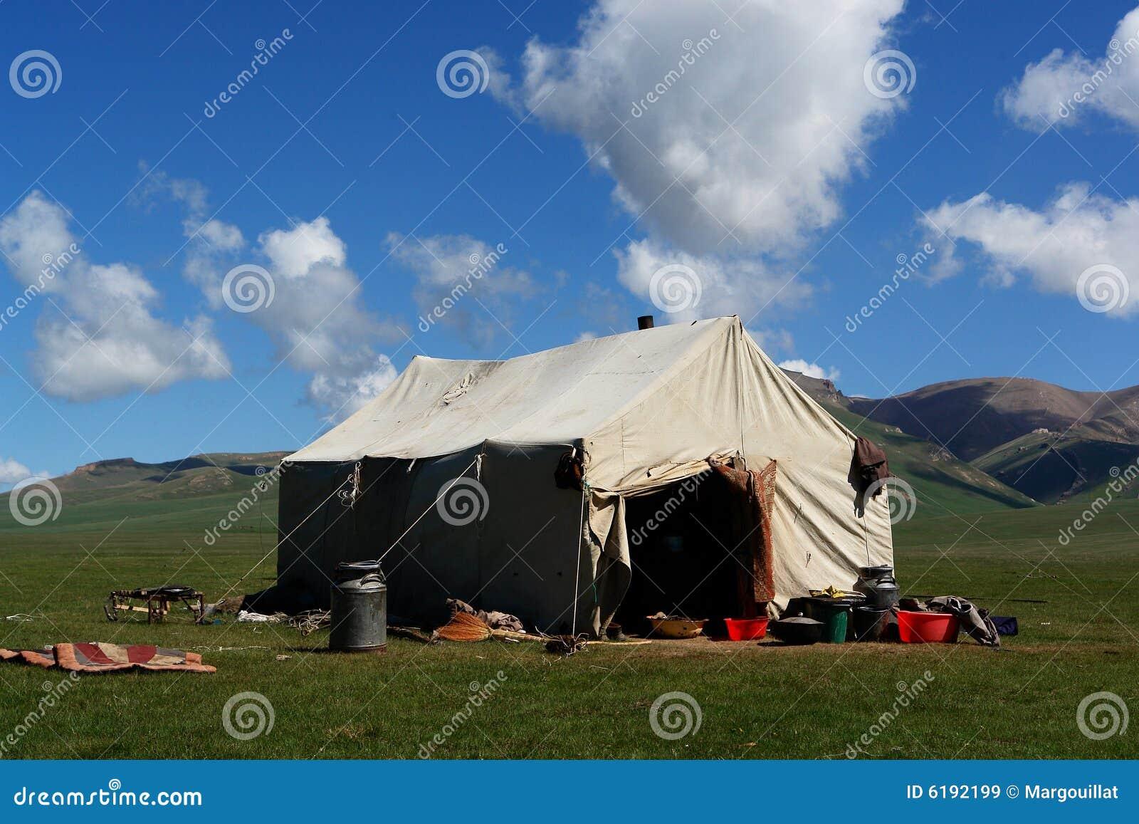 游牧人帐篷