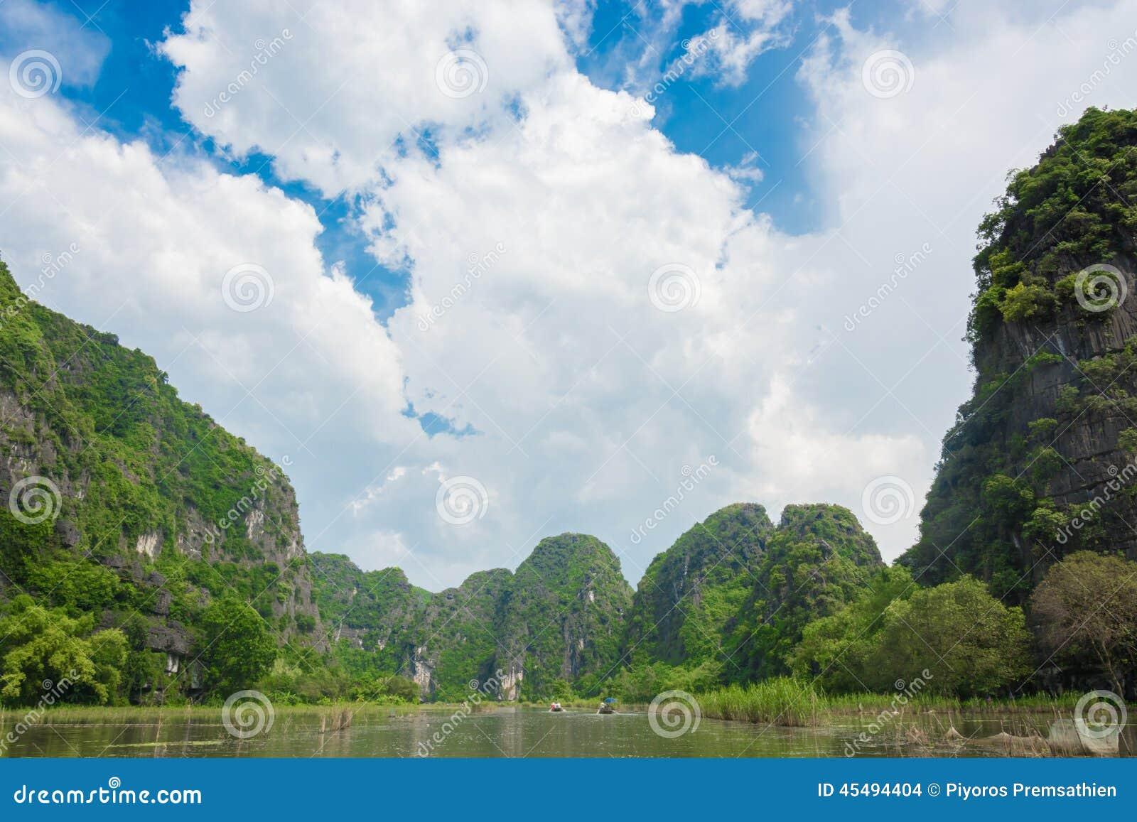 游船多数普遍的地方在越南