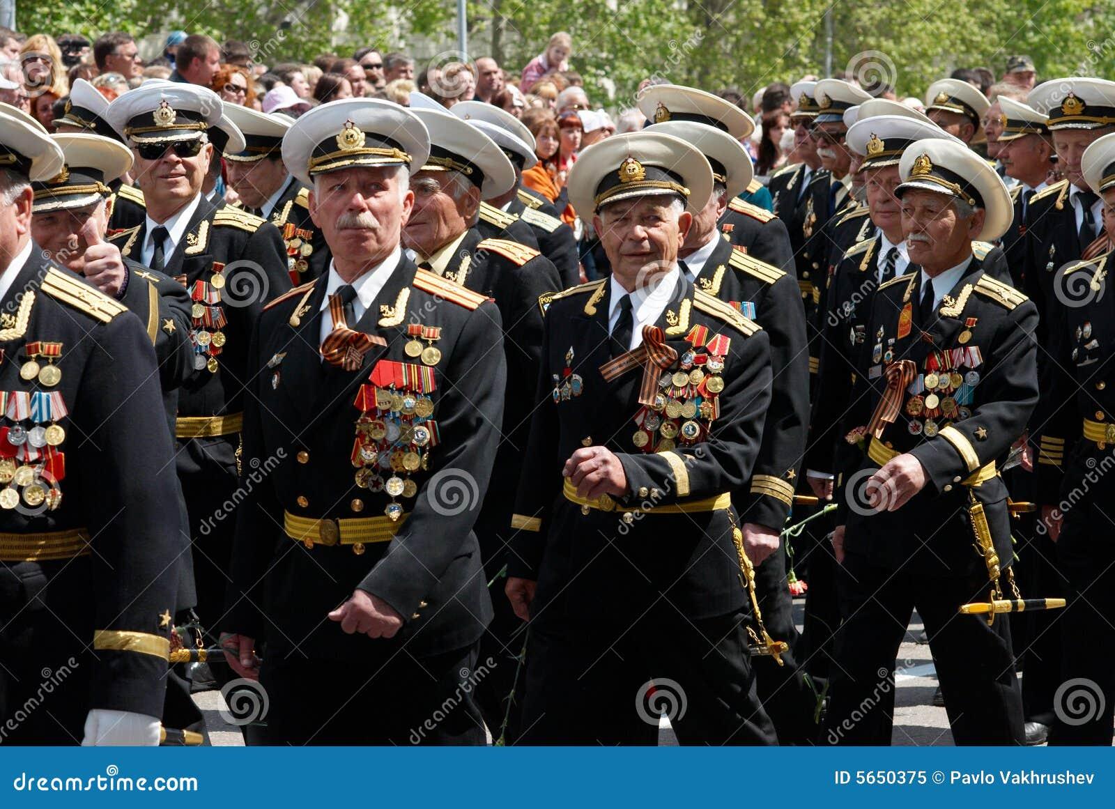 游行俄国s退伍军人