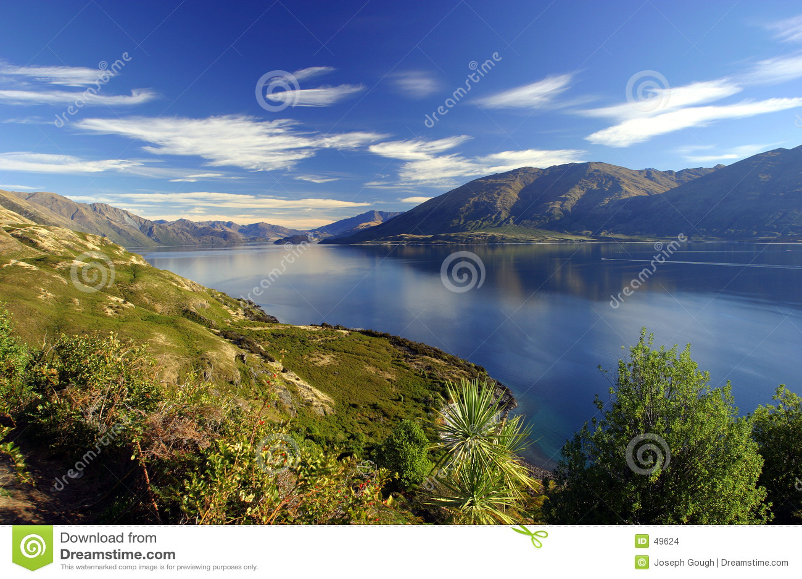 湖新的wanaka西兰