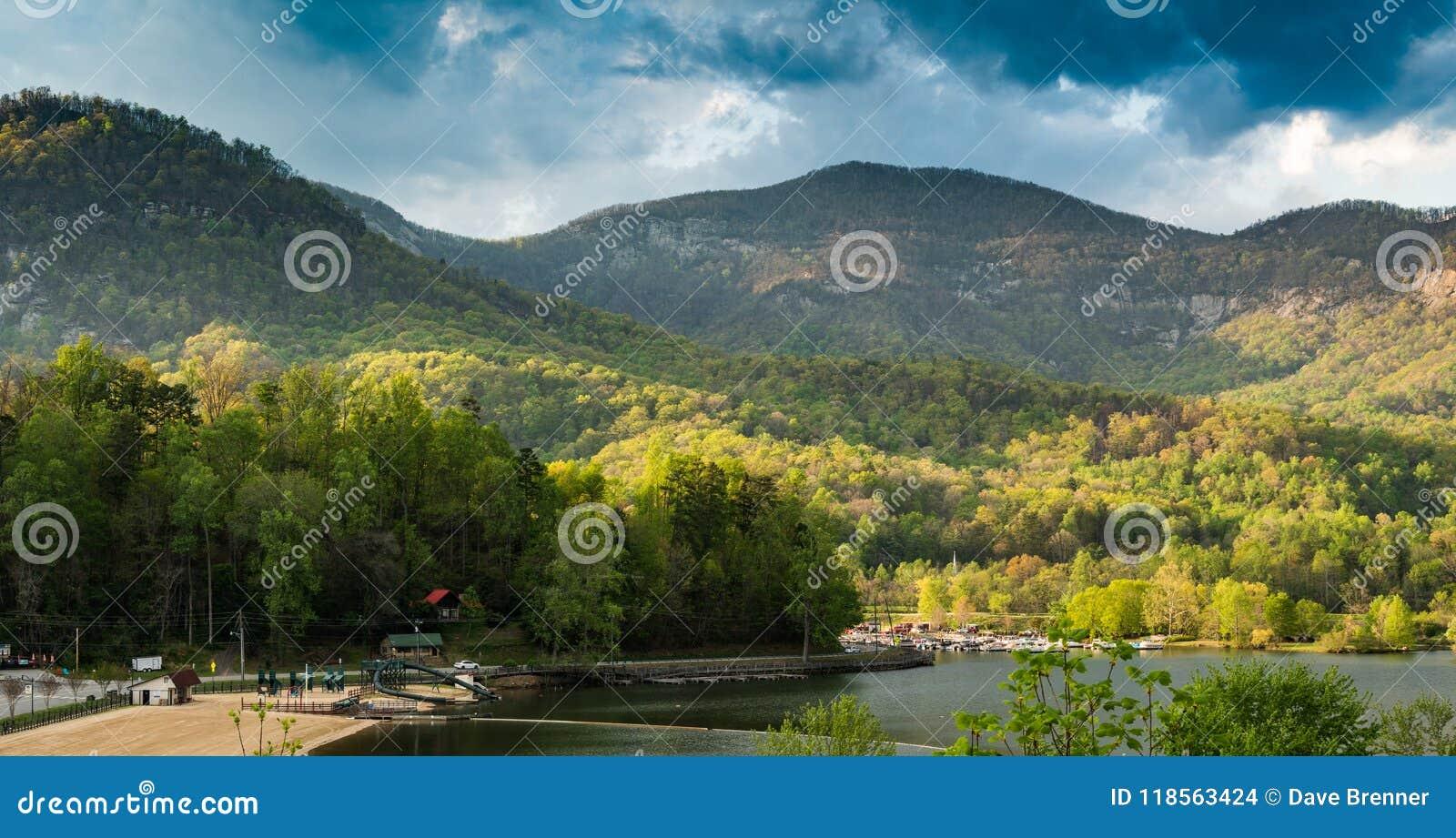 湖诱剂在蓝岭山脉