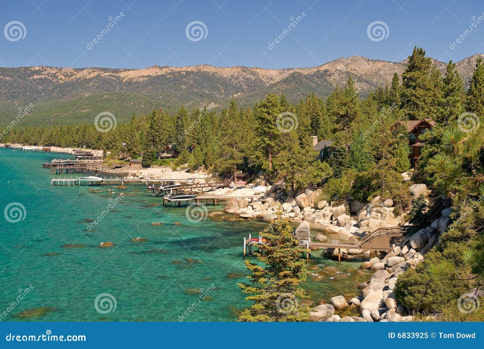 湖风景tahoe