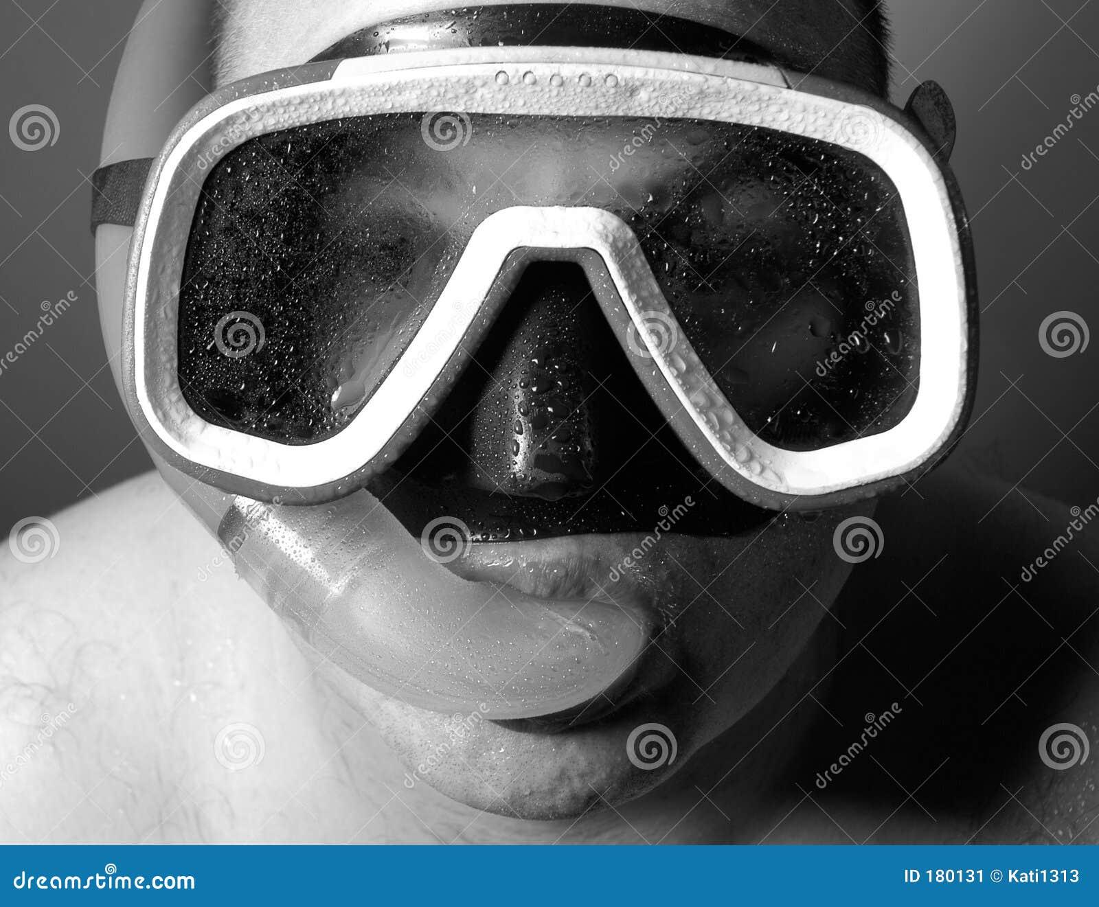 湿潜水员的iv