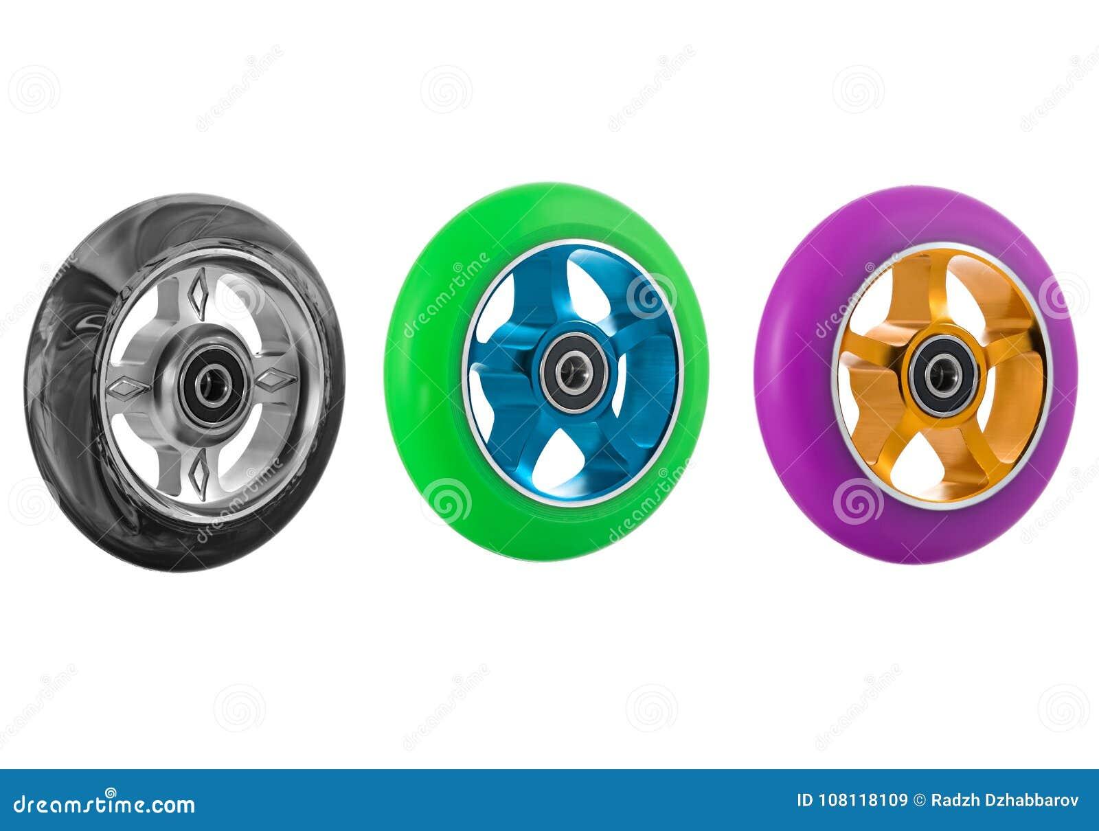 滑行车轮子