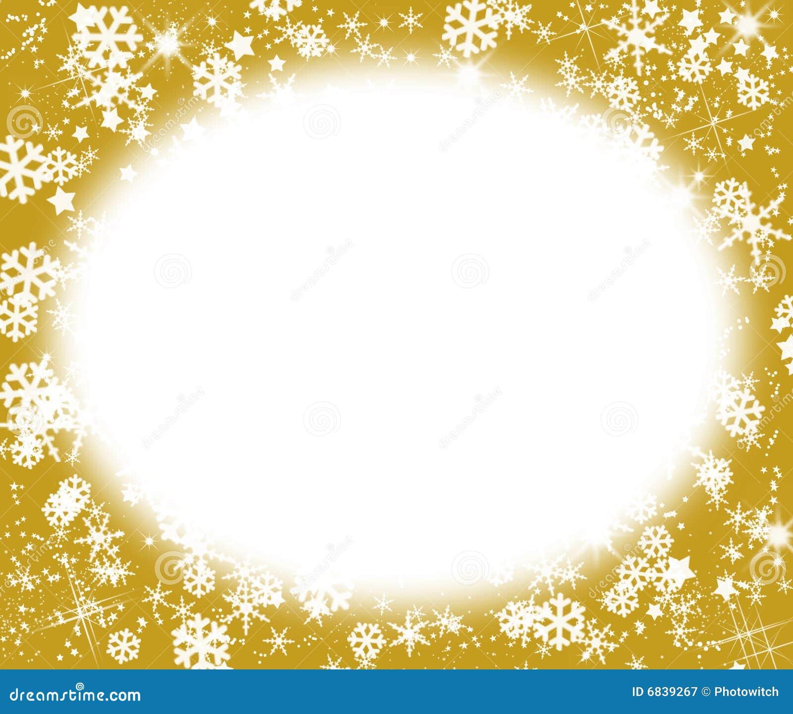 满天星斗圣诞节的框架