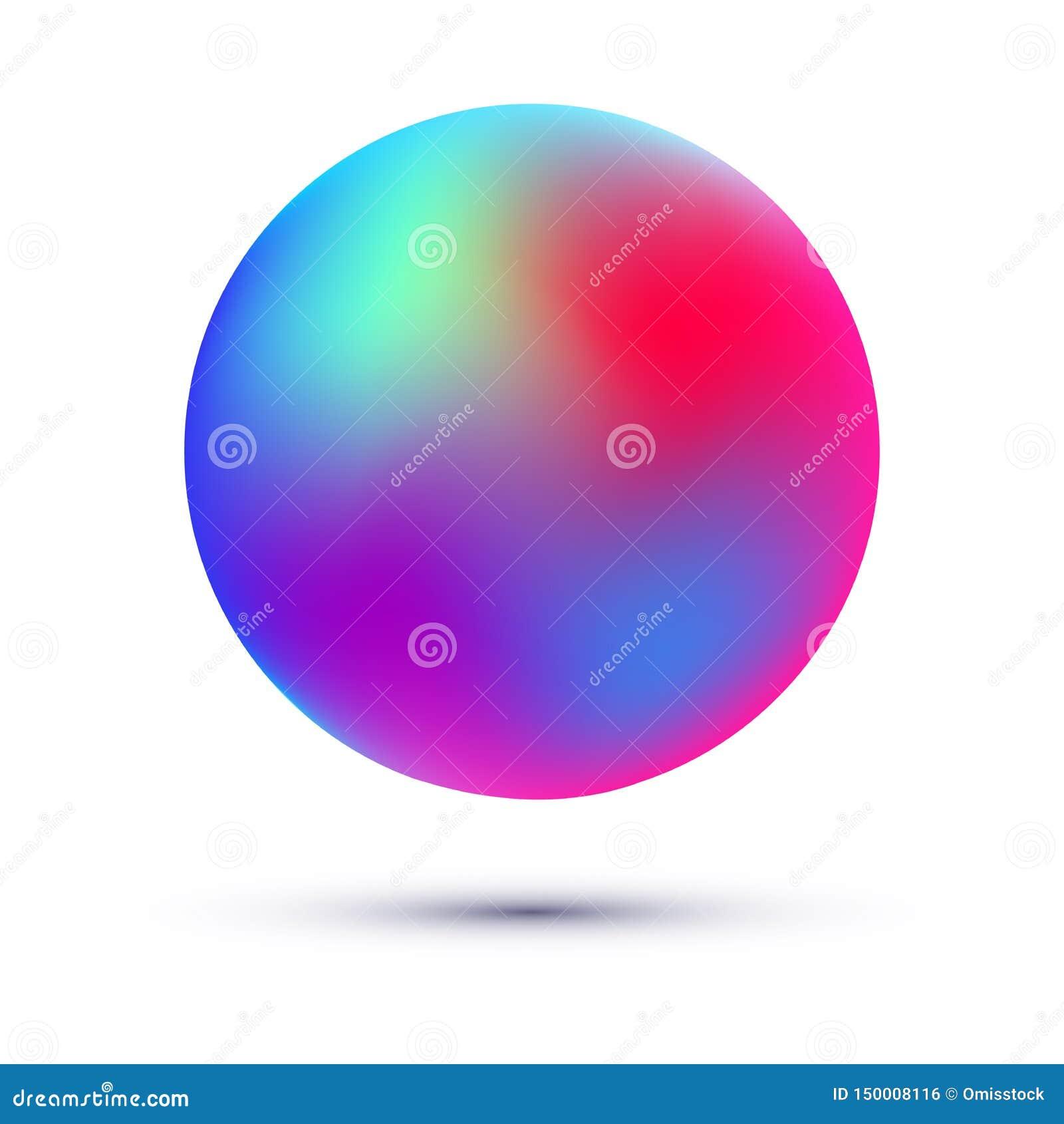 滤网球 梯度五颜六色的球形
