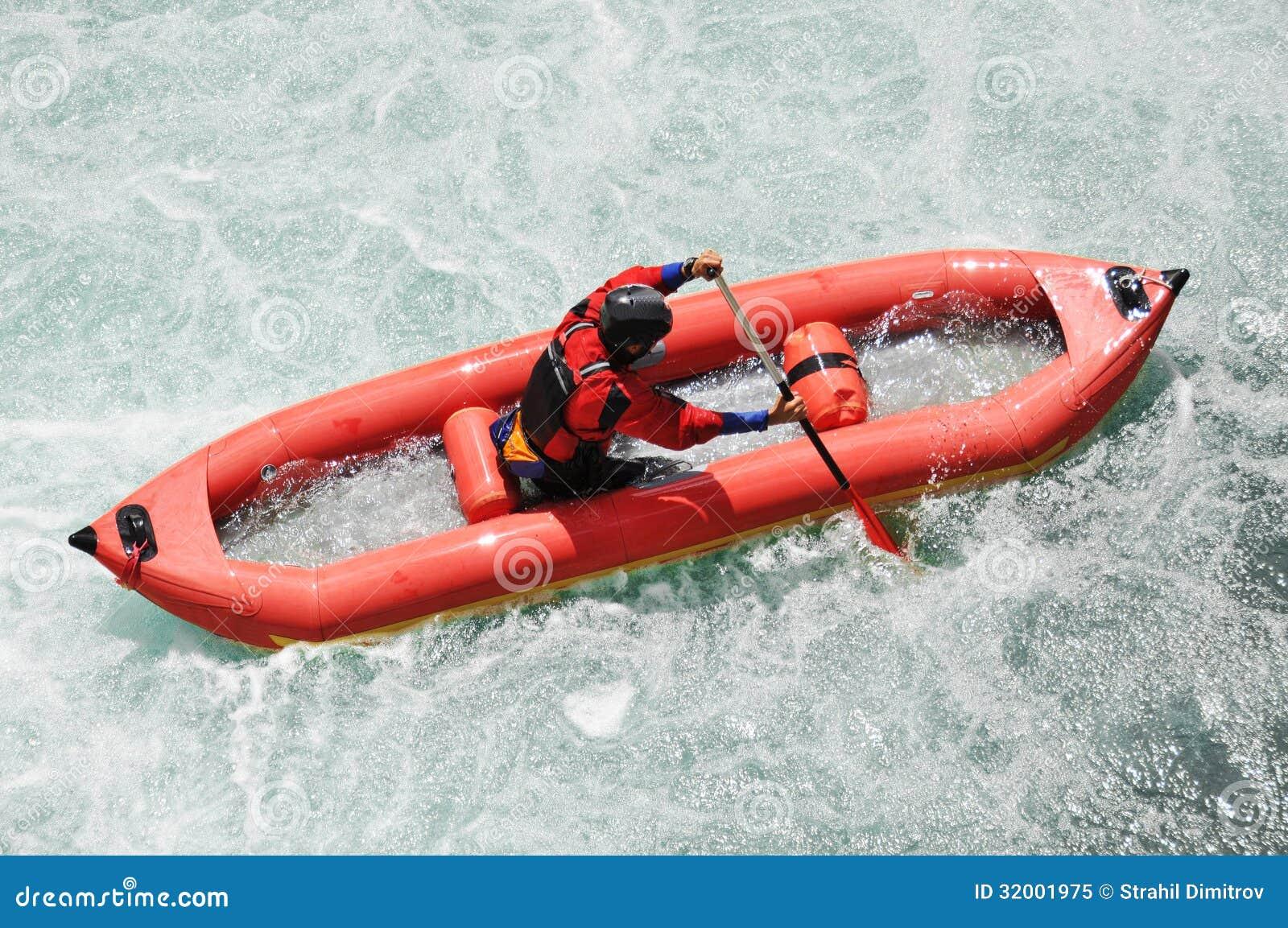 漂流,划皮船,极端,体育,水,乐趣