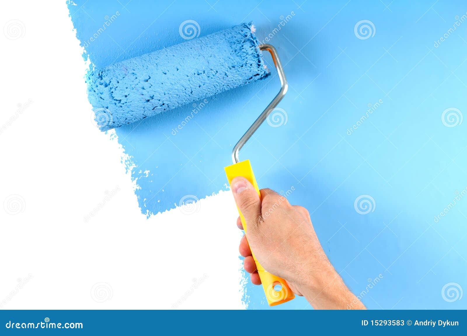 漆滚筒墙壁