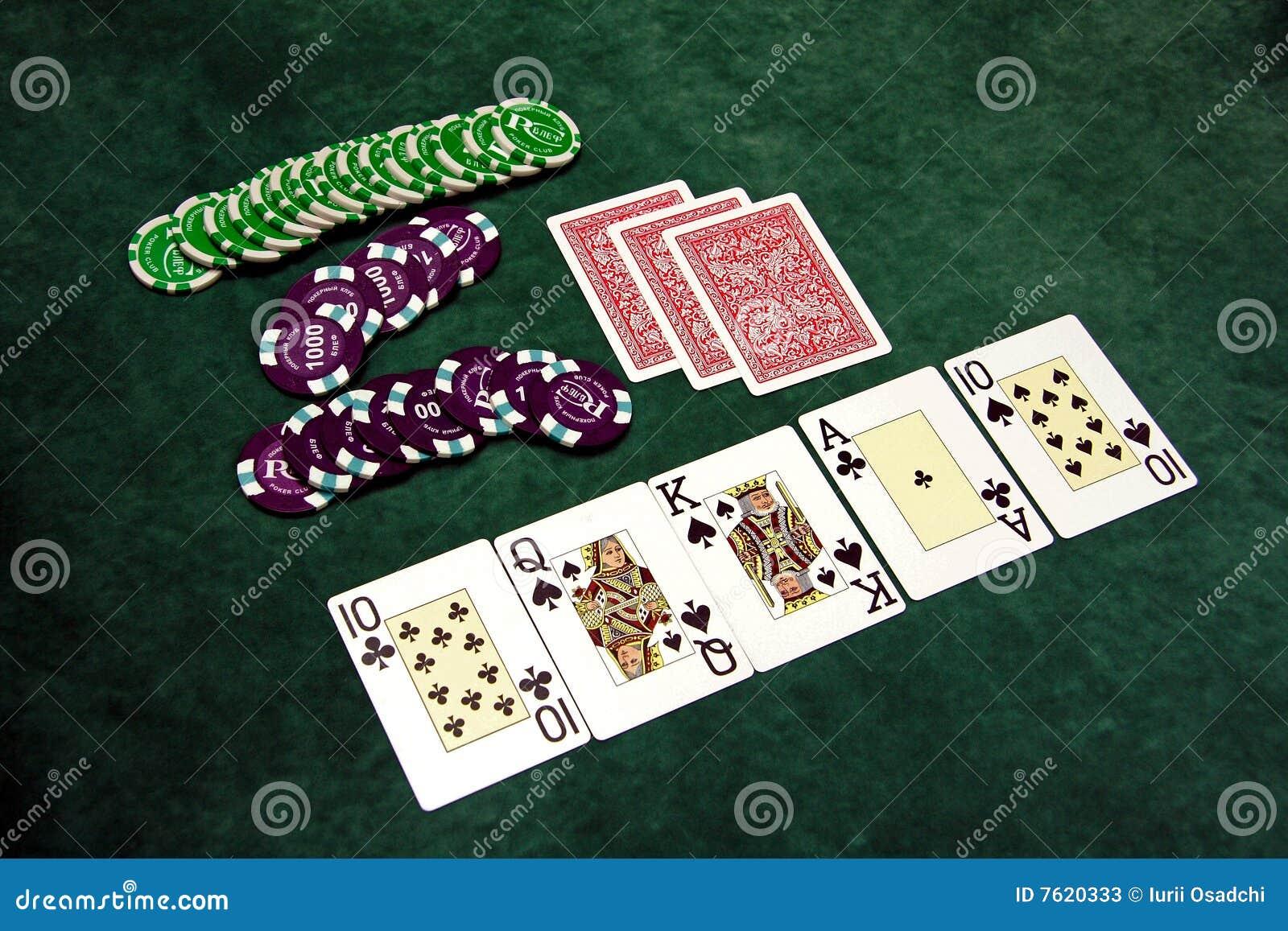 演奏表的看板卡筹码