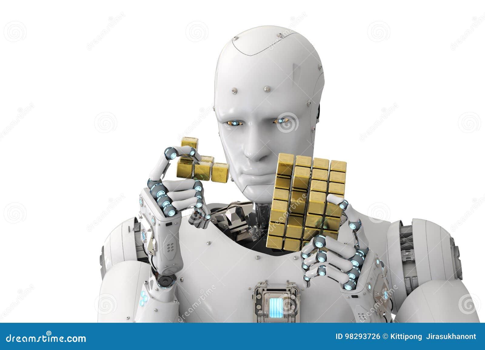 演奏难题的机器人