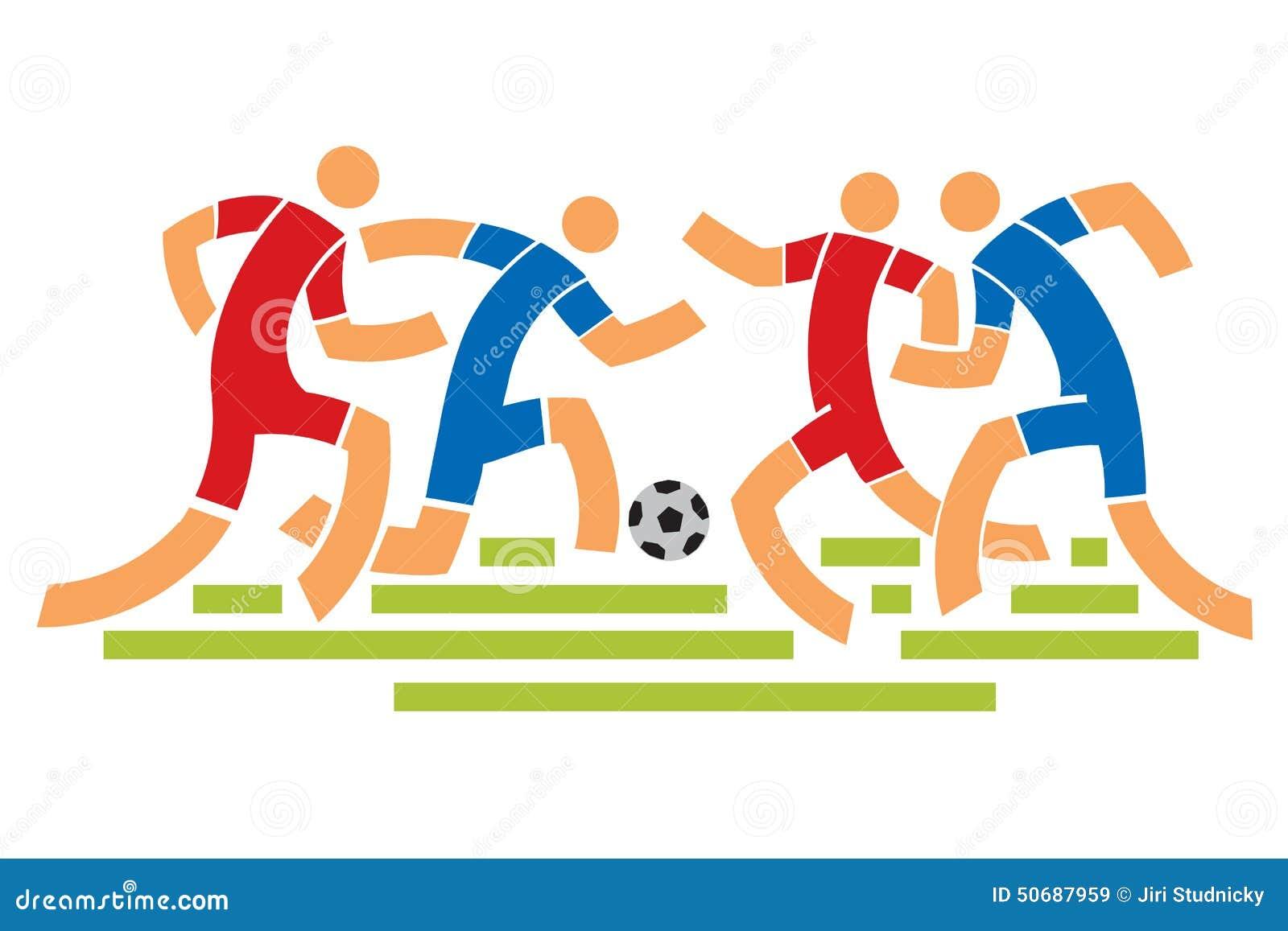 Download 漫画人物球员足球体育运动 向量例证. 插画 包括有 足球, 移动, 动画片, 培训, 运动, 重新创建, 球员 - 50687959