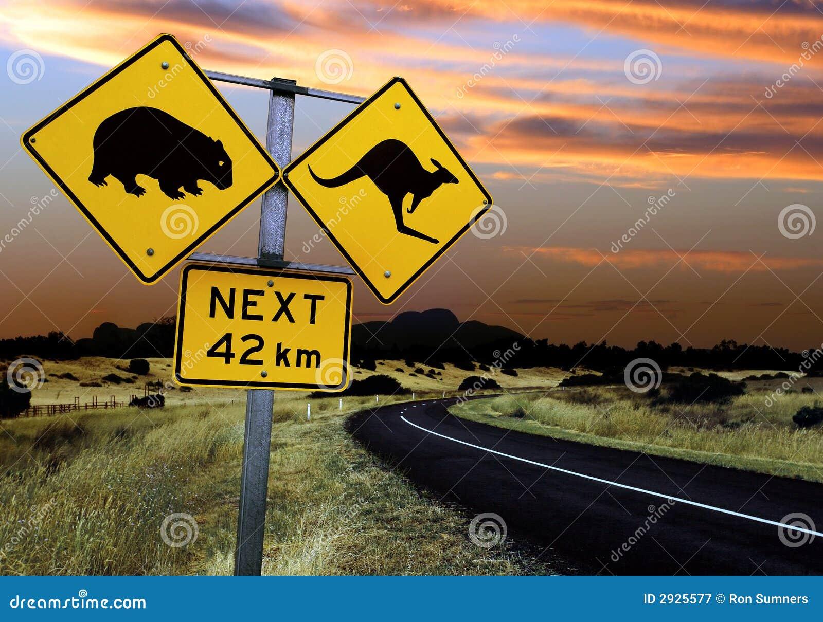 澳大利亚路标