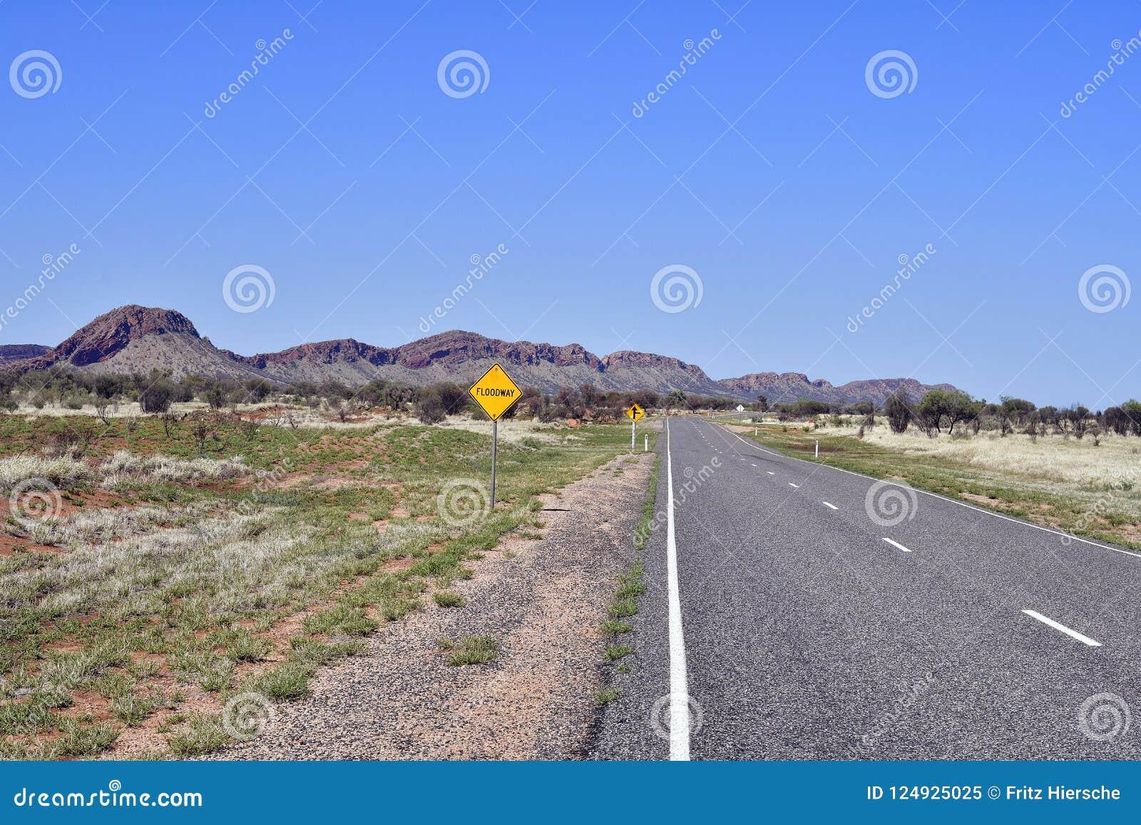 澳大利亚,北方领土,在内地麦道排列