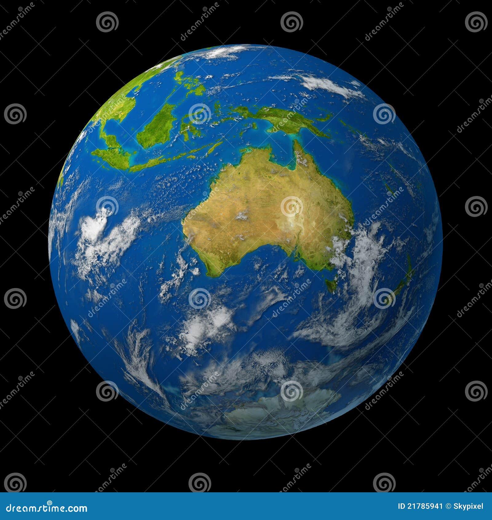 澳洲地球地球