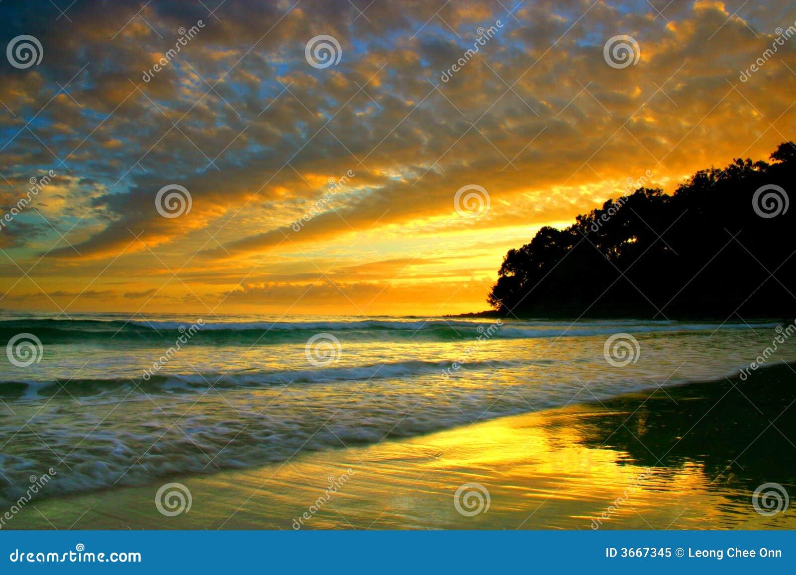 澳洲海岸阳光